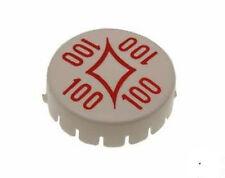 """1 Chapeau bumper caps flipper Gottlieb  """" diamond 100"""" ROUGE A-13859 R"""