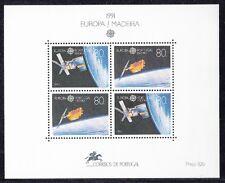 Madeira 1991 Bf 12 Europa Mnh
