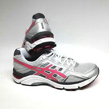 Asics Gel Fortitude 6 Women Damen Laufschuhe weiss pink silber Gr. UK 7,5 / 41,5