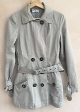 Ladies Grey Coat Size 8 Autograph<NH4078