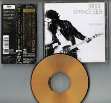 BRUCE SPRINGSTEEN Born To Run JAPAN 24k GOLD CD SRCS6765 w/OBI+PS BOOKLET FreeSH