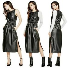 NWT GUESS LEVIN FAUX LEATHER SIZE S