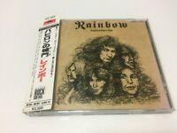 "RAINBOW ""Long Live Rock 'n' Roll"" JAPAN CD  P33P 25020  obi FS"