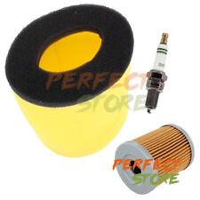 Air Oil Filter Tune Up Kit F Suzuki King Quad 300 Quadrunner 250 LT-F Spark Plug