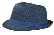 Mesh Fedora S/m Navy Blue