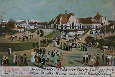 VINTAGE GERMAN POSTCARD, DUSSELDORF, HAUPT WEINRESTAURANT 1902