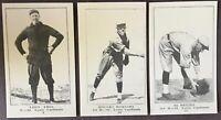 1917 Collins-McCarthy St Louis Cardinals E-135 Team Set (7) Rogers Hornsby HOF