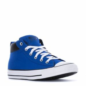 CONVERSE ALL STAR CT STREET MID UNISEX MEN 5 = WOMEN SIZE 7 SHOES ROYAL BLUE NEW