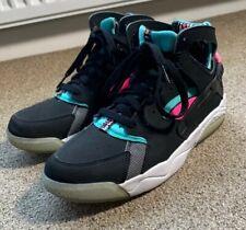 Nike Huarache Hi HighTops Black Pink Turquoise Size UK 5 Rare