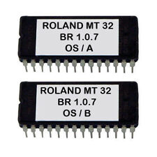 "Roland MT-32 Version ""blue ridge"" enchanced 1.0.7 firmware O.S update EPROM MT32"