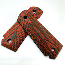 For 1911 Grips Quality Scaled Color Wood patch Rosewood Custom DIY Handles 1Pair
