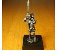 PLOMB SOLDAT, squelette guerrier dans une cuirasse, fait à la main, détaillées,, collection