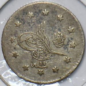 Turkey 1908 AH 1293 2 Kurush 195384 combine shipping