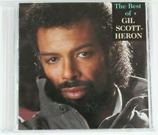 The Best of Gil Scott-Heron by Gil Scott-Heron (CD,1991, Arista) No Back Art
