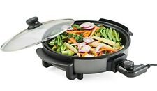 Emeprial Multi Cooker Pot Electric Frying Pan with Large 30cm Diameter 1500W