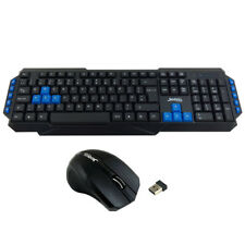 Jedel 2.4GHz Wireless Gaming Gamer Keyboard And Mouse Set Combo For PC Laptop