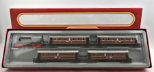 MARKLIN HO SCALE 2858 DB DIESEL ENGINE WITH 4 PASSENGER CAR SET