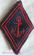 IN8312 - LOSANGE DE BRAS, Coloniale, Troupes de Marine
