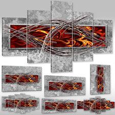 Neu Leinwandbild Canvas Wandbilder Kunstdruck Keilrahmenbild abstraktes Ornament