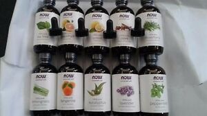 NOW Foods Essential All Scents Peppermint Clove Orange Oil w 4 oz Dropper Option