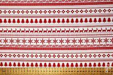 Navidad (Navidad) - Nordic - Favorito Jersey Navidad - Estampado Polialgodón