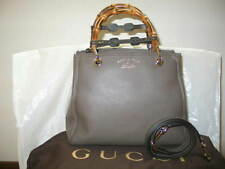 Authentic Gucci Bamboo Small shopper Tote Bag