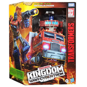 TRANSFORMERS GENERATIONS WFC KINGDOM WFC-K11 LEADER OPTIMUS PRIME ACTION FIGURE