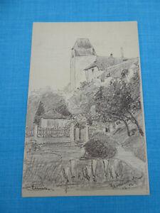AK 1902 - ENNS - Druck von Radierung datiert 1902 - Linz Land
