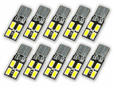 10x 4 SMD 5630 Chip LED T10 W5W XENON weiß 6000K Innenraumbeleuchtung L95