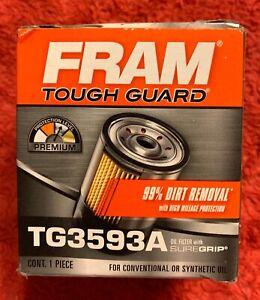 FRAM TOUGH GUARD TG3593A Oil Filter (PH3593A XG3593A M1-104A M1-108A 51334XP)