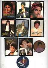 WHOLESALE JOB LOT X 100 MICHAEL JACKSON SEW ON  PATCHES ,  VARIOUS DESIGNS