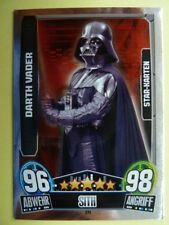 Force Attax Star Wars Serie 3 (2013 rot), Darth Vader (221), Star-Karten