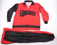 Vintage 80s Chicago Bulls Mens 2XL XXL Michael Jordan 2 Piece Rain Suit Joggers