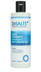 Dr Salts Dead SeaFRAGRANCE FREE FOR SENSITIVE SKIN 350ml