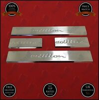 FIT vauxhall opel ASTRA J chrome door sill scuff scratch guard S.STEEL 2010-2015