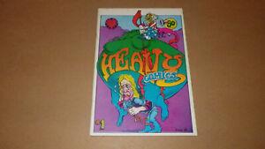 Heavy Tragicomix No. 1 1969 Print Mint Greg Irons VF 8.0