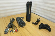 Microsoft Xbox 360 Elite 120GB Matte Black Console (NTSC) Bundle
