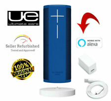 Ultimate Ears UE Blast Bluetooth Speaker w/ Alexa BLUE + Power Up Charging Dock