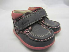 Clarks Boots Wide Shoes with Hook & Loop Fasteners for Girls