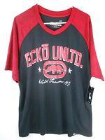 ECKO UNLTD. Function Short Sleeve Shirt Large L Red NWT NEW