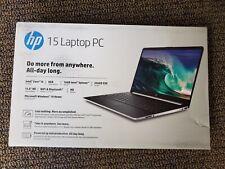 New HP Laptop 15.6 HD Intel i5-1035G1 3.6GHz 8GB RAM 256GB 16GB Optane DY1051WM