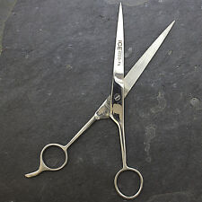 "7.5"" ICE TEMPERED ADJUSTABLE PROFESSIONAL HAIR CUT BARBER SCISSORS Cutting"