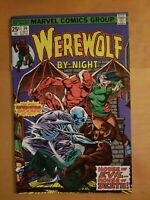 Marvel Comics WEREWOLF BY NIGHT Issue 34 - House of Evil... House of Death! Nice