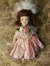 Vintage Solid Porcelain Doll