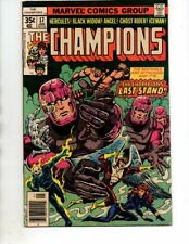 The Champions#17 (Marvel 1977)LAST ISSUE/SENTINELSI-VF-