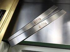 310mm HSS resharpenable Cepilladora Cuchillas Para Adaptarse ROBLAND máquina 1 Par