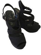 Black Office Sandals Size 5