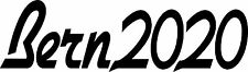 Bern2020 - Hillary Clinton President - Bumper Sticker Decal 8.5x2.5 white vinyl