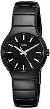 Rado Women's True Analog Display Swiss Quartz Black Watch R27655052