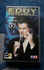 cassette VHS concert Eddy Mitchell - collector - idée de cadeau